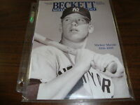 Beckett Baseball---Mickey Mantle Cover---1995