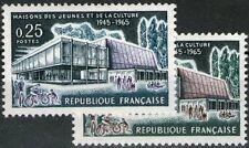 """FRANCE STAMP N°1448 """" TROYES MAISON DES JEUNES, VARIETE DE COULEUR """" NEUFxx TTB"""