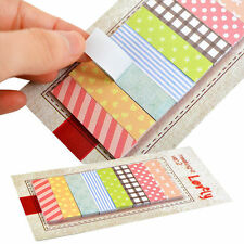 160 Pages Lovely Sticker Post It Bookmark Point Marker Memo Notepad Sticky Notes