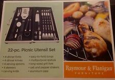 Utensil Set 22 Piece Picnic And Grill