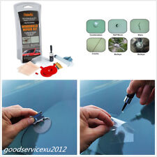 Car SUV Windscreen Glass Renwal Repair Scratch Crack Restore Tool With UV Light