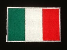 ITALY ITALIA ITALIAN NATIONAL COUNTRY FLAG BADGE IRON SEW ON PATCH CREST EUROPE