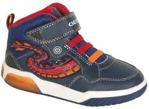reduzierung Geox Inek B sneakers boy geobuck navy/red