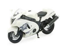 Suzuki GSX 1300 R Hayabusa White scale 1:18 Motorcycle Model From NewRay