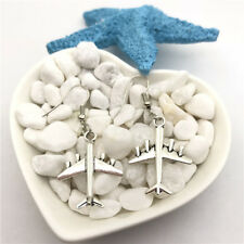Air Plane Charm Earrings Tibet silver Charms Earrings Charm Earrings for Her