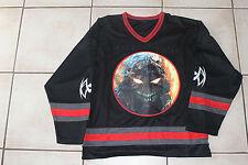 Disturbed Embroidered Hockey Jersey Shirt XL