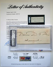Admiral David Dixon Porter United States Civil War U.S. NAVY PSA/DNA LOA RARE