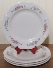 Pfaltzgraff Meadow Lane  Dinner Plates   Set of 4    Made in the USA