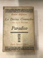 DANTE ALIGHIERI LA DIVINA COMMEDIA PARADISO - Giacalone, Luglio 1970