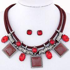 Crystal Rhinestone Collar Costume Necklaces & Pendants