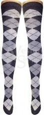 OVER THE KNEE SOCKS IN MANY COLOURS INC (BLACK, GREY, WHITE, NAVY,RED,GREEN)TJB