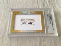 Pedro Martinez 2016 Leaf Masterpiece Cut Signature 1/1 autograph signed card JSA