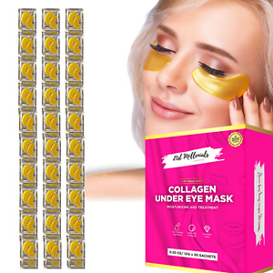 Under Eye Patches Crystal Gold Mask Collagen Gel Pads Anti Dark Circle Wrinkle