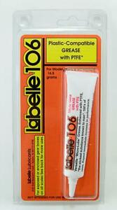 Labelle 106 Plastic Compatible Grease with PTFE for HO OO N TT Z G and O gauges