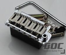 G.O.C 2 Point Tremolo Upgrade STEEL SADDLES & STEEL Block fits for FENDER Strat