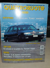 QUATTRORUOTE Settembre 1994 Subaru Vivio GLi 4WD  Ford Fiesta  1.6 16V Ghia Pro