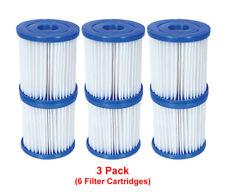 Bestway - 6 Filtro CARTUCCE SIZE 1 - per 300/330 GALLONI / Hr piscina pompe