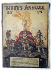 BIBBY'S ANNUAL 1921 Literary Art England History Religion Europe Society Alchemy