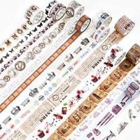 Retro Ancient Times Washi Masking Adhesive Tapes Home Decor Scrapbook Craft DIY