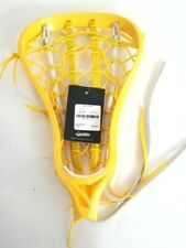 Brine Epic 2 Strung Lacrosse Head In White / Yellow Retail $75 Field Hockey