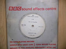 "BBC Sound Effects 7"" Record - Workman's Cafe, Public Bar Pub FIELD TRIAL - RARE!"