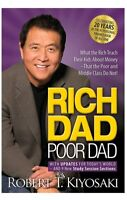 RICH DAD Poor Dad - 20th Anniversary Updated Edition by Robert T. Kiyosaki NEW