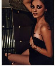 [2033] Mila Kunis SEXY Signed 10x8 Photo AFTAL