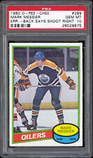 1980-81 O-Pee-Chee #289 Mark Messier Rookie Card PSA 10 GEM MINT!