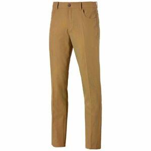 NEW Puma Jackpot 5 Pocket Golf Pants Moisture Wicking Stretch Waist Model 577975