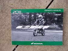 2011 Honda CRF50F Off-Road Motorcycle Owner Manual MORE CYCLE ITEMS IN STORE S
