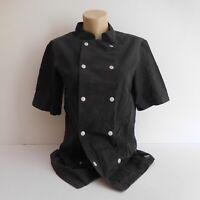 Chemise vêtement cuisine noir MOLINEL taille O made in Vietnam vintage N4296