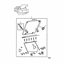 NEW GENUINE HOLDEN RODEO/COLORADO CREW CAB HARD COVER KIT PART 95710411