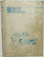 1968-1973 Jaguar XJ6 Series I Parts Book List Manual Catalog
