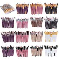 20 pcs / kit kit de pinceau de maquillage l'outil de maquillage cosmetique D4K6