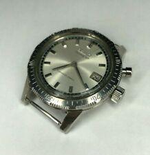[w284] Seiko vintage chronograph Mono pusher 5717-8990 1964 Hand winding VG