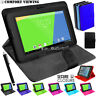 "Universal Leather Case Magnetic Flip Cover For Lenovo TB-X103F 10.1"" inch Tablet"