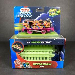 Thomas & Friends Track Master Hyper Glow Nia Motorized Railway Train Engine NEW