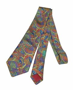 Hermes 100% Silk Tie Catawiki Made In France Multicolor
