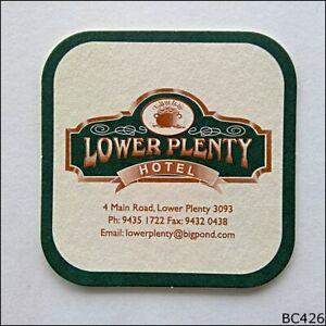 Lower Plenty Hotel Green Coaster (A) (B426)