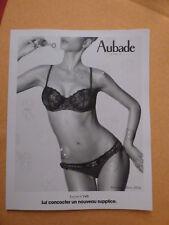catalogue Aubade automne hiver 2014  lecon N° 146  et N° 150