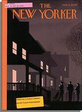 New Yorker - 2009, November 2 - Medical Robots, Fighting Famine in North Korea