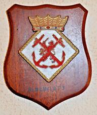 Netherlands Mine Countermeasures Flotilla 3 plaque shield crest Dutch Navy MCM3