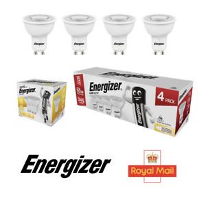 ENERGIZER GU10 LED Bulbs Spot light Lamps Warm White 3000k Down lights