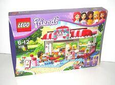 LEGO FRIENDS 3061 City Park Café with Andrea & Marie COMPLETE VGC-EC