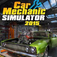 CAR MECHANIC SIMULATOR 2015 - Steam chiave key - Gioco PC Game - ITALIANO - ROW