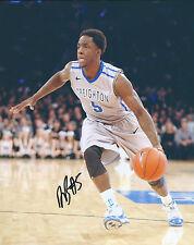 Creighton Blue Jays #5 Devin Brooks Signed Autographed Basketball 8x10 Photo Coa