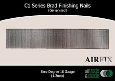C1 Series Brad Finishing Nails (Galvanised) - Length: 25mm - Box: 5000 Nails