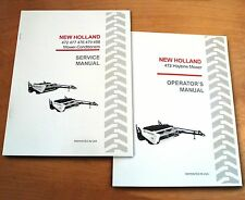New Holland 472 Haybine Mower Conditioner Operator's and Service/Repair Manual