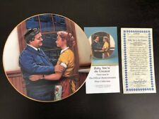 The Honeymooners Hamilton Collection Collector's Plate Baby, You're The Greatest