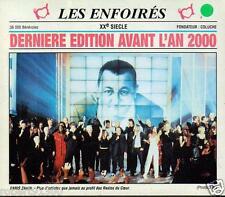 CD audio../...LES ENFOIRES.../...DERNIERE  EDITION AVANT L'AN 2000....